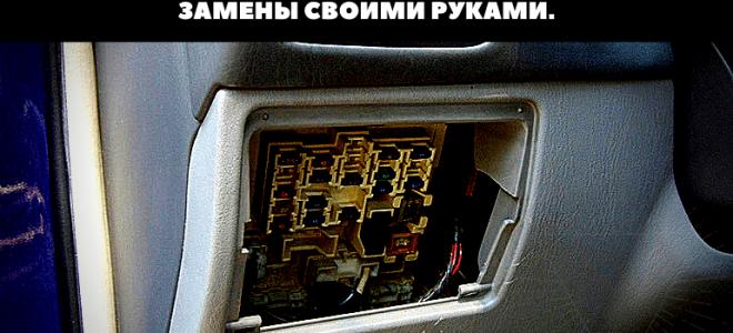 🏁Блоки предохранителей Toyota Avensis в салоне и моторном отсеке