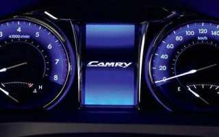 🏁Описание приборной панели Toyota Camry