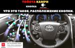 🏁Кнопка Nanoe в Toyota Camry
