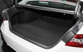 🏁Размеры и объем багажника у Toyota Camry