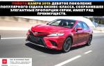 🚗Обзор автомобиля Toyota Camry 2019