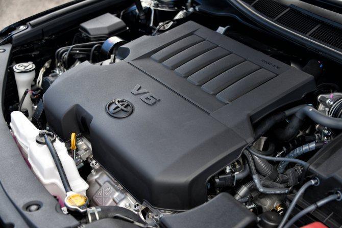 3,5-литровый двигатель с 6-цилиндровым V-образным блоком