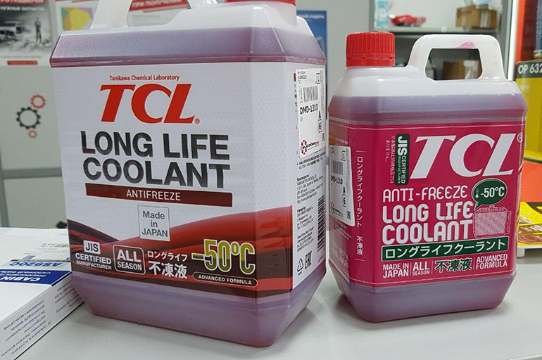 TCL Long Life Cooant Red
